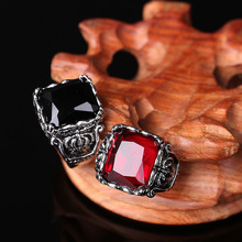 Gothic Crown Rings Vintage Style Fashion Jewelry For Men Woman Jewelry bijoux(China)
