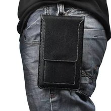Waist Wallet Mobile Phone Bag Casual Cell Phone Bag Cover Case For ZTE Phone Buttons Model Pouch Holster With Card Holder(China)