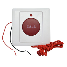 10 PCS Emergency Call Button Normally Open signal 86mm size Rope style panic Button Alarm system automatic restoration(China)
