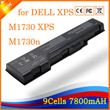 11.1V 7800mah Replacement 9 Cell New Laptop Battery for DELL XPS M1730 XPS M1730n(China)