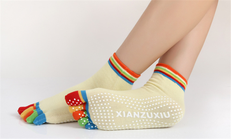 17 Colorful Socks Women Dance For Girls Short Socks With Silicone Peds Liners Tube Socks 24