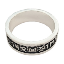 Viking Rings Man's Custom Rune Letter Ring Wedding Anel Nordic Vintage Men Jewelry