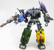 Transformation WB Style MBD Bruticus Members- ONSLAUGHT Blastoff Vortex Brawl Swindle 5IN1 TF Figure Collection Boy Robot Toys(China)