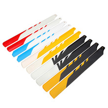 High Quality Aglin TREX 450 RC Helicopter Accessories 325MM Fiberglass Main Blade For RC Camera Drone Accessories(China)
