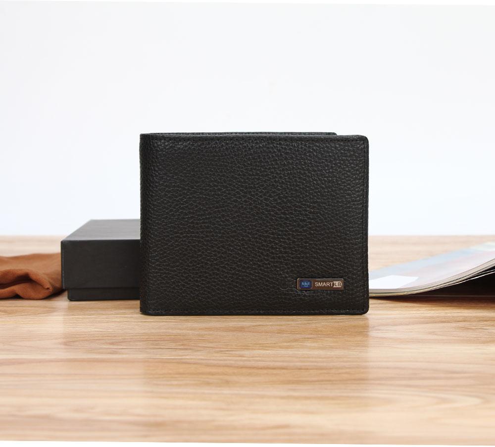 محفظة جلدية ذكية مضادة للضياع مع جهاز تتبع مربوط بالهاتف عبر البلوتوث 14