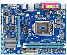 original Used Desktop LPT motherboard For Gigabyte GA-H61M-DS2 H61 support LGA 1155 2*DDR3 support 16G 4*SATA2 USB2.0 Micro ATX