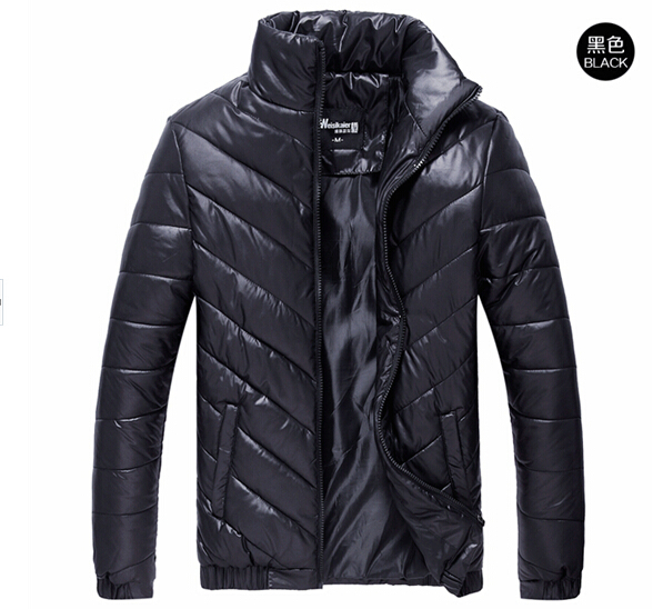 HOT! New Winter Coat Brand Men's Down Jacket Winter Casual Cotton Cotton-padded Clothes Coat
