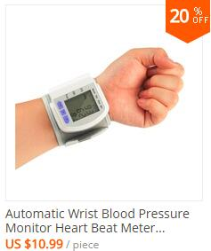 Household Health Care Wrist Blood Pressure Monitor Digital LCD Heart Beat Rate Pulse Meter Automatic Sphygmomanometers tonometer 2