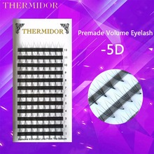 1 Box Russian Eyelashes Volume 5D Eyelashes Extension For Professionals Premade Cilia Premade Volume Lash  to Build Kit BK1