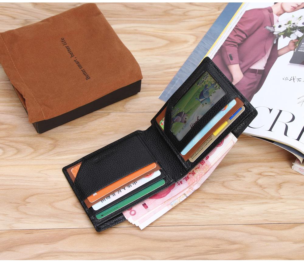 محفظة جلدية ذكية مضادة للضياع مع جهاز تتبع مربوط بالهاتف عبر البلوتوث 12