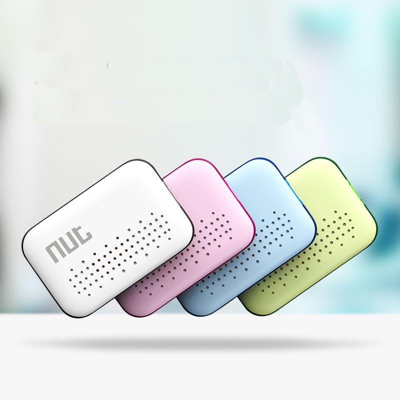 1pc Mini Smart Patch Alarm Tag Bluetooth Nut 2 Tracker Locator Anti Lost Key Fin
