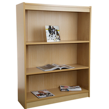 "Excalibur Heavy Duty Shelf 48""H Wood Veneer Bookcase- Natural Oak()"