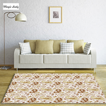 Carpets Retro Indian Cucumber Pattern Native Ornaments Elements Oriental Decorations Texture Art Curved Ethnic Collection Beige