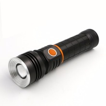 Waterproof Lamp lanterna Built-in Charging Rechargeable Fishing Camping Flashlight CE18