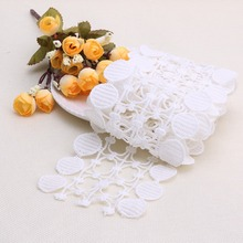Vintage Embroidered Lace Edge Trim Ribbon Wedding Applique DIY Sewing Craft Gift(China)