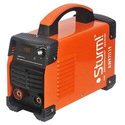 Аппарат сварочный инверторный Sturm! AW97I119 (Диапазон тока 30-190 А, Мощность 5200 Вт, диаметр электрода 5 мм, продолжительность включения при макс. то...