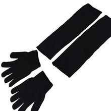 Safurance Safety Cut Proof Stab Resistant Steel Mesh Hand Arm Protection Gloves + Sleeves Workplace Safety