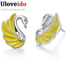 Valentine's Day Ornaments Wholesale Lots Fashion Earring for Women Aretes Silver Earring Brand Cheap Free Shipping 15% off R477