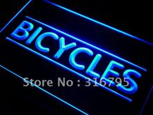 i287 Bicycles Shop LED Neon Light Sign On/Off Switch 7 Colors 4 Sizes