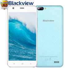 New Blackview A7 Smartphone 5.0 inch IPS Android 7.0 Quad Core 1GB RAM 8GB ROM Mobile Phone 3G WCDMA GPS WIFI Blutooth Cellphone