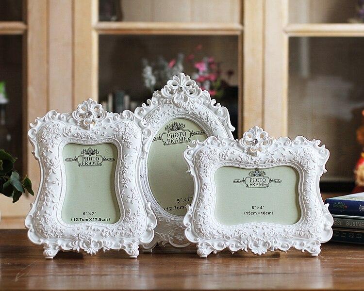2016 NEW European Home Furnishing white Photo frame 6 inch 7 inch wed_C3_24