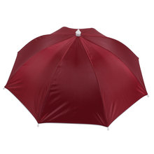 UXCELL Red Umbrella Hat Golf Fishing Camping Headwear Cap(China)