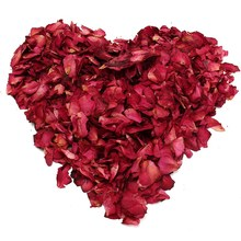 100g/Bag Dried Rose Petals Bath Spa Shower Tool Natural Dry Flower Fragrant Whitening Bath Tools Body Foot Care Women Massager(China)