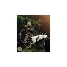 75mm Resin Figure Model Kit Medieval Hunter Unassambled Unpainted(China)