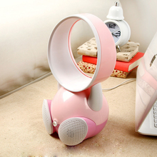 ITAS2006 USB mini fan cartoon creative handheld mobile charger portable mini electric ventilador and fans(China)