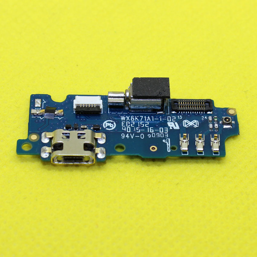 WP-046 MEIZU M2 Mini Microphone Module+USB Charging Port Board Flex Cable Dock Connector For Meizu Meilan2 Phone(China (Mainland))