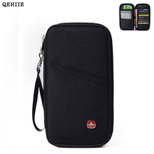 Wholesale Travel Oxford Cloth Passport Bag Card Pack Multi-Function Organizer Wallet Ticket Holder ID Card Credit Card Holder 96(China)
