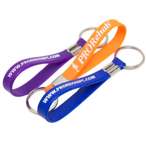 DHL Free shipping 200pcs/lot wholesale custom silicone keychain personalized text or logo printed for sports or event