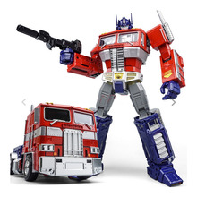 KBB Transformation OP Commander MP10V Alloy Metal Collection Voyager With Backpack KBB Deformation Action Figure Robot Toys