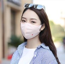 Buy Cartoon Print Face Mask Fashion Summer Cotton Funny Auti-Dust Anime Emotiction Kawaii Half Breathable Face Mask Sport Cycling for $1.00 in AliExpress store