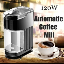 Coffee Grinder 120W 220V Portable Coffee Maker Household Electric Coffee Grinder Coffee Machine Espresso Mill Cafe Shop Kitchen(China)