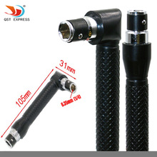 QSTEXPRESS L-shape Mini Double Head Socket Wrench Suitable For Routine Screwdriver Bits Utility Tool