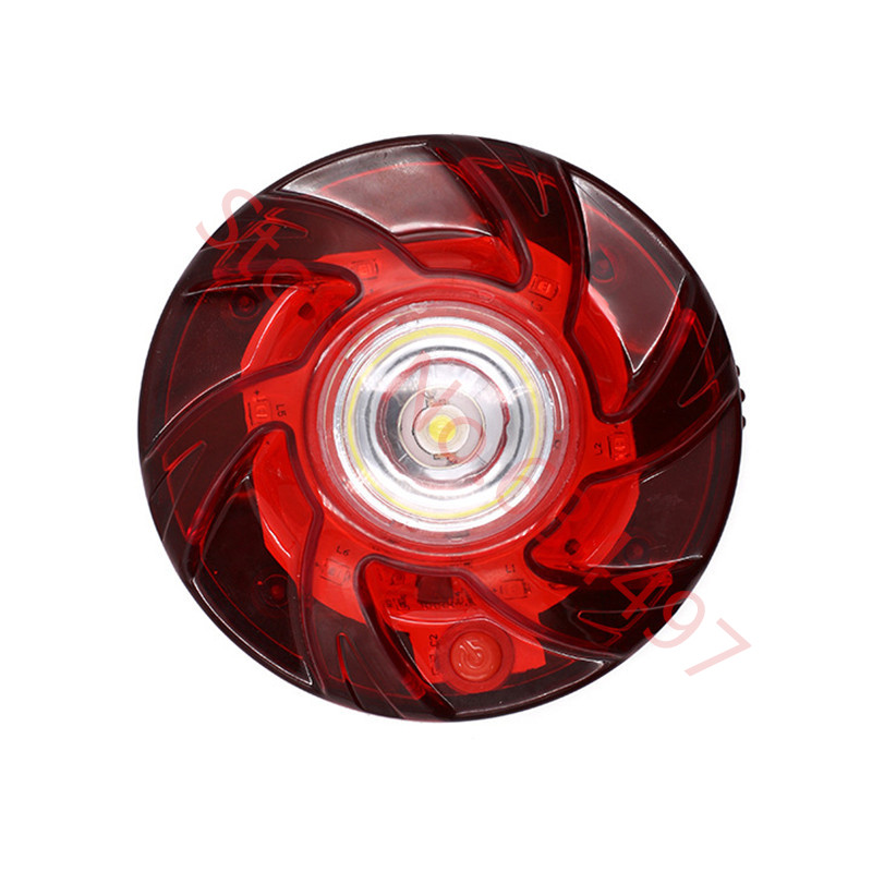 16LED Round Red Car Beacon Emergency Strobe Flashing Warning Safety Light Lamp