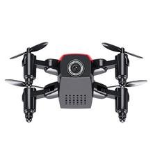 Hot Sale Mini S9HW Altitude Hold 0.3MP HD Camera 6-Axis Foldable WIFI RC Quadcopter Pocket Drone IUNEED TOY Store(China)