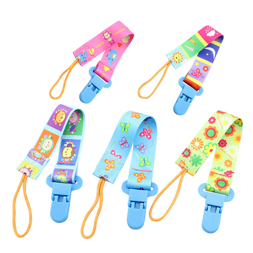 Baby Pacifier Clip Chain Cotton Dummy Holder Chupetas Soother Pacifier Clips Strap Nipple Holder Infant Feeding