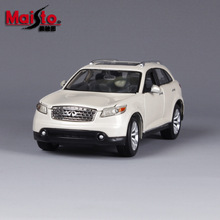 Maisto alloy car model 1:24 Mercure Infiniti Emulation car simulation model Collection Lovers Diecast Toys Gifts for children