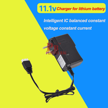 11.1V 400mA XH-4P water cannon lithium battery charger balanced charge intelligent protection