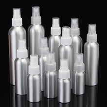 30/50/100/120/150/250ml Aluminium Spray Atomiser Bottle Metal Empty Bottles Fine Mist Pump Atomizer Cosmetic Containers Tool