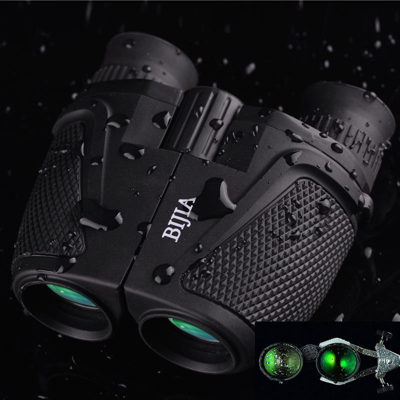 Portable Binoculars BK4 Prism Binoculars Waterproof 12 x 25 HD Night Vision Binoculars 83m/1000m Ultra-clear Telescopes Hunting <br>