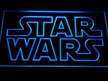 g113 Star Wars Bar Beer LED Neon Sign with On/Off Switch 7 Colors 4 Sizes to choose(China)