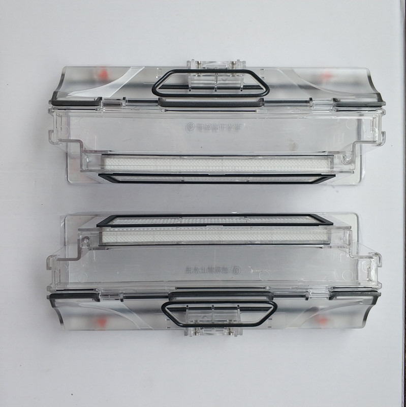2pcs  Vacuum Cleaner Dust Bin Box mi box +2pcs HEPA Filter Suitable for xiaomi mi robot  mi robot