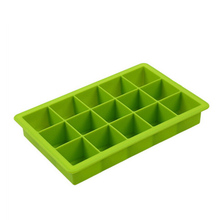 15 Grids Silicone DIY Ice Lattice Cube Mold Square Shape Cream Tray Maker Ice Container Kitchen Bar Accessories
