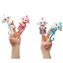2017 Fingerlings Glitter Monkey Rose Interactive Baby Pet Intelligent Toy Tip Monkey Cub Smart Electronic Pet playful bag