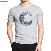 BGtomato T shirt Dream fly Bald Eagle t-shir 7802(China)
