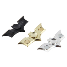 Buy Adult Kids Bat Plane Fidget Tri Hand Spinner Fingertip Gyro Focus EDC Toy Gift for $1.07 in AliExpress store