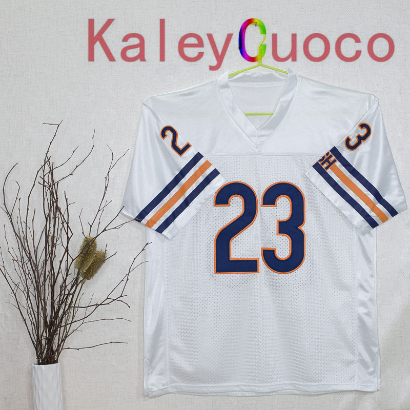 Retro star #23 Devin Hester Embroidered Throwback Football Jersey M&N 48 50 52 54 56 Jerseys(China (Mainland))